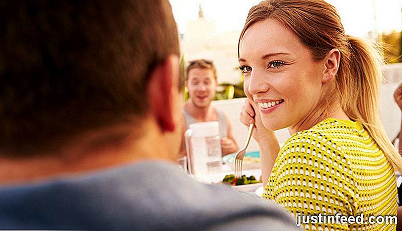 Unterschied flirten verliebt