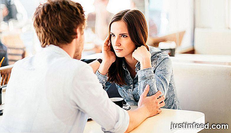 Nach dem Dating einer Grenze erholen