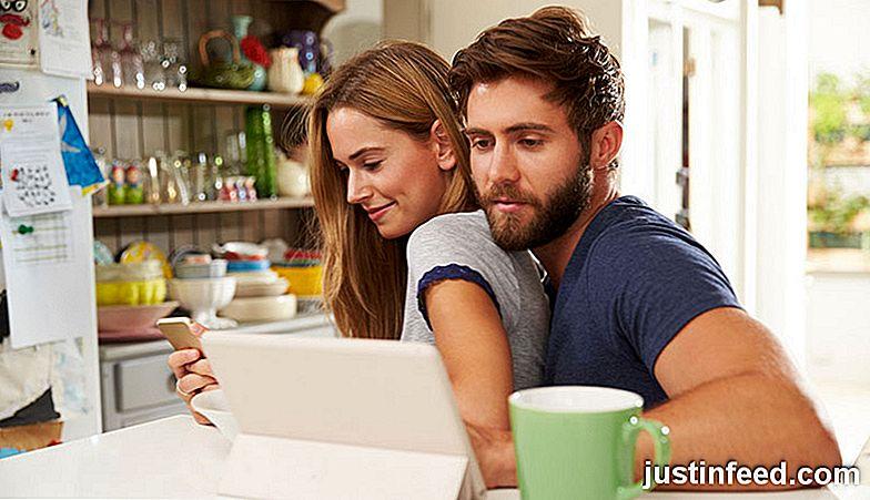 Online-Dating mit Mädchen